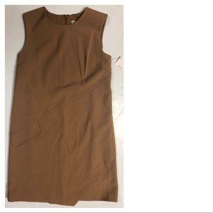 NWT Halogen Tan Shift Dress